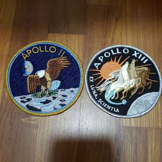 Apollo II and Apollo XIII patches