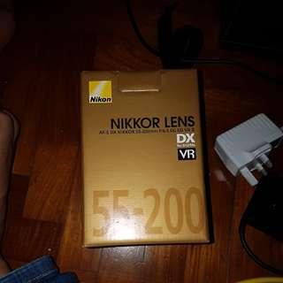Nikon 55-200mm f4-5.6g vr ii nikkor