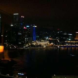 24-2-18, MARINA BAY SANDS  CLUB ROOM HIGH FLOOR CITY VIEW