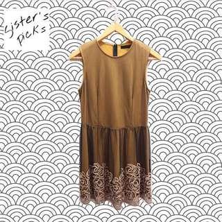 MAJE Mustard Dress