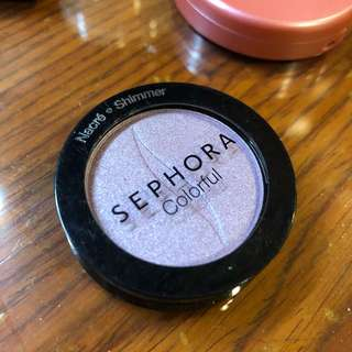 Sephora eyeshadow - purple