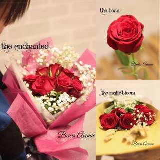 VDAY Rose Bouquet - HOT SELLING
