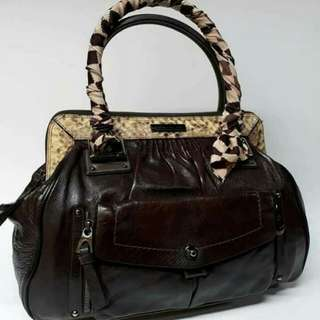 Authentic Barbara Bui Leather bag