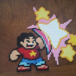 Hama beads design Steven Universe and other Characters