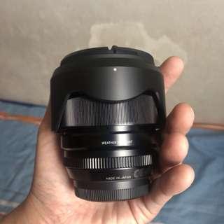 XF 16mm f1.4 lens