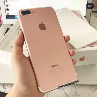 Iphone 7 Plus Rosegold 128GB