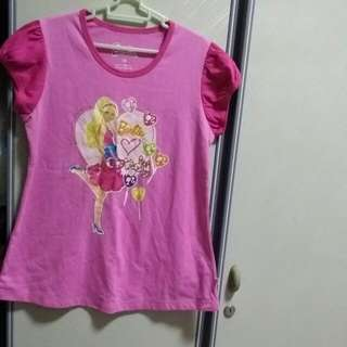 BABY CLOTHES BARBIE TM GIRL BLOUSE FOR 8-10YEARS.