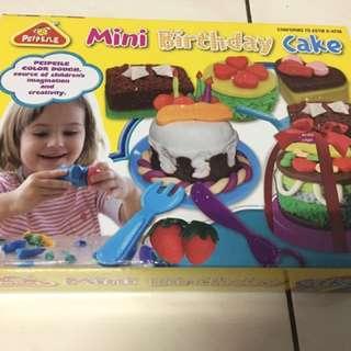 Happy Birthday Cake Colour Clay