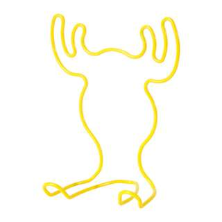 Ikea Moose tablet stand, yellow