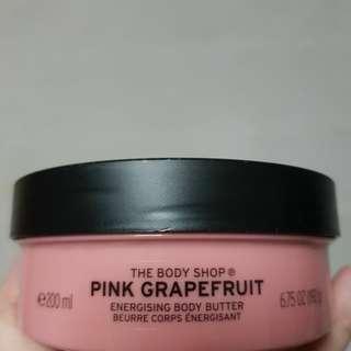 Body Shop Pink Grapefruit - body butter/shower gel