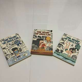 The Diary of Amos Lee Three Book Series
