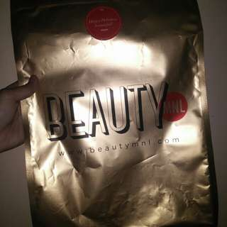 BEAUTYMNL HOLIDAY POUCH (LARGE)