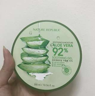 Soothing Gel aloevera