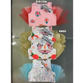 Bonds Baby Tutu Dress Size 0/ 6-12m