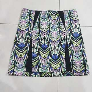 ELEMENTS Tribal print skirt