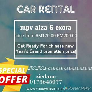 mpv car rental