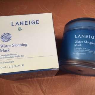 BNIB Laneige Water Sleeping Mask