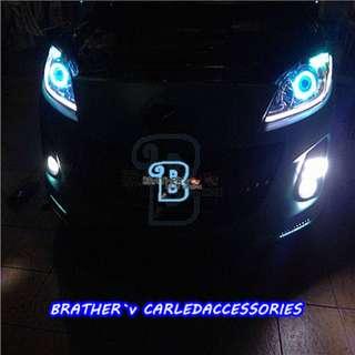 (3) LED Soft Rubber Daylight Tear Eye Daylight
