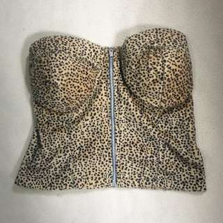Bustier crop too