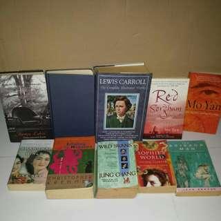 Box part 1 Famous bestseller classics  vintage books