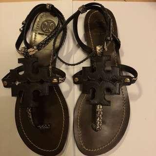 TORY BURCH 涼鞋 39號 (只穿過一次,有盒)