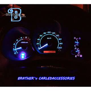 (3) LED T5 Bulb Meter Panel Air-cond Panel