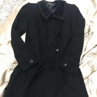 Reiss wool coat
