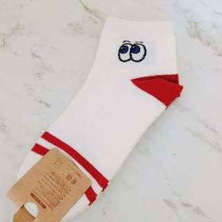 🚚 大眼睛韓版長襪