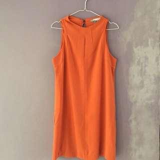 Forever21 Orange Dress 🍑