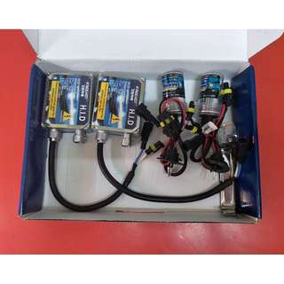 (3) HID Headlight Set