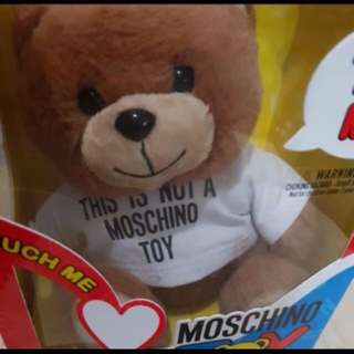 Brand new Moschino perfume bear