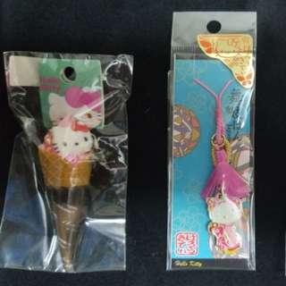 hello kitty 電話繩 (日本直送) 1/2 : $60 , 3: $30 , 4 : $20