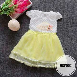 Dress DGP002 Yellow
