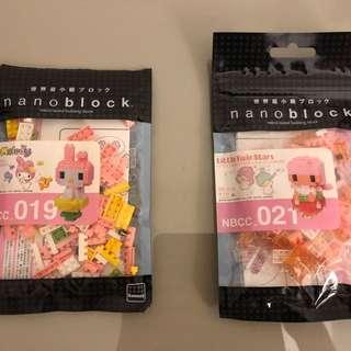 Nano block x 2 packs