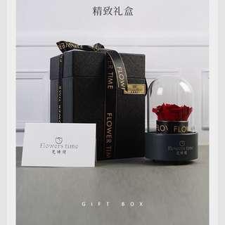 Everlasting Rose Flower Music Box Valentine day
