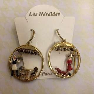 Les Nereides Mushroom 耳環,99%new(只試戴過)