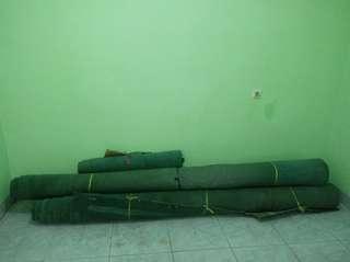 Karpet Tebal Awet Harga per Meter Hijau Tua #cintadiskon