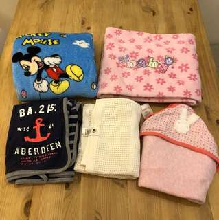 Baby Blankets $5 each