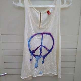 H&M PEACE TEE😘