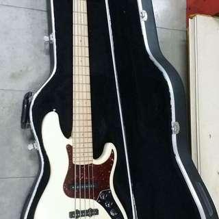 Fender American deluxe jazz bass V5(USA)