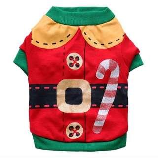 Christmas elf dog clothes
