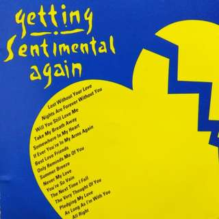 arthcd Getting Sentimental Again CD (BREAD, ENGLAND DAN & JOHN FORD COLEY, CHICAGO, AZTEC CAMERA, CHRISTOPHER CROSS, CARLY SIMON, PETER CETERA & AMY GRANT, SEALS & CROFTS, ST. PAUL, etc)
