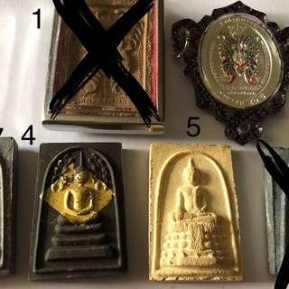 Past bidded item, kruba krissana butterfly, LP pae item