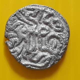 MEDIEVAL HINDU KINGDOM - Horseman / Bull - Variety vintage Billion Coin - 1000 Years Old - india - bi48