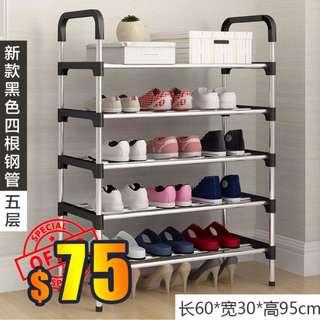 $75 - (包運費) 6層5格 簡易鞋架鞋櫃 收納整理櫃 收納櫃 (代訂) (面交: $80) Shoe Rack