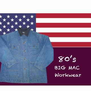 Vintage 80年代 BIG MAC 四袋工裝外套🌟