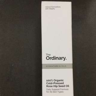 The Ordinary 100% Organic Cold-pressed Rose Hip Seed Oil  去暗粒 提亮膚色 保濕