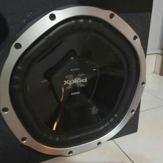 Sony Xplod 12' 1000W Woofer box