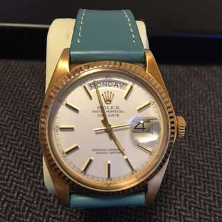Rolex 1803 Gold and yellow face, mint condition