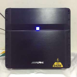 Alpine PMX-F640 4 Channel amplifier. Car Radio And Audio System